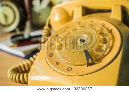 Old-style Rotary Phone