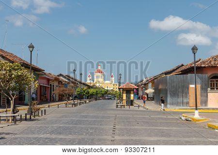 La Calzada Street View, Granada, Nicaragua