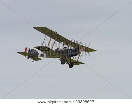 Royal Aircraft Factory Be2 Biplane