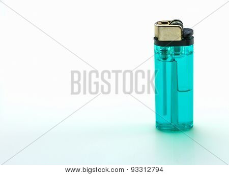 The Lighters On White Background.