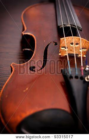 Classic Old Violin