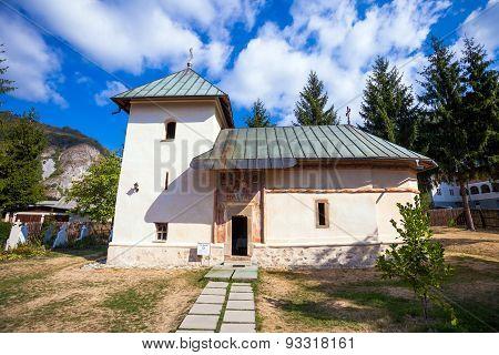 Old Orthodox Monastery From Polovragi