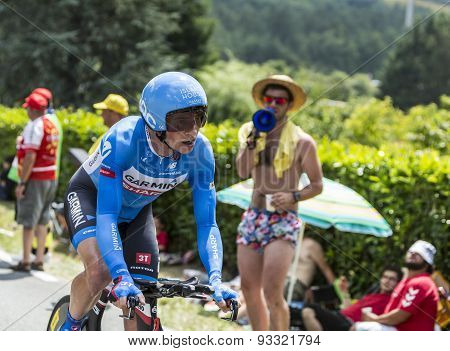 The Cyclist Benjamin King - Tour De France 2014
