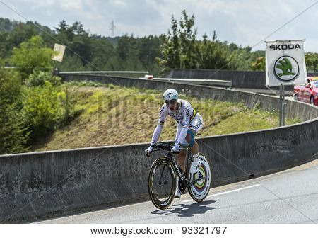 The Cyclist Tony Martin - Tour De France 2014