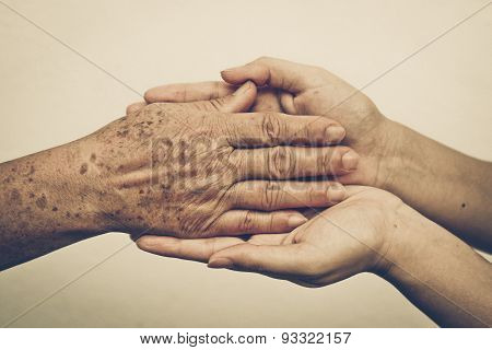 Taking care of the elderly