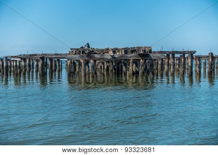 Decayed Pier Pilings 2