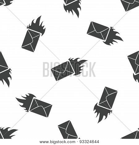 Burning envelope pattern