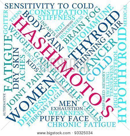 Hashimoto's Word Cloud