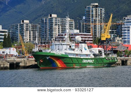 Greenpeace Esperanza Vessel