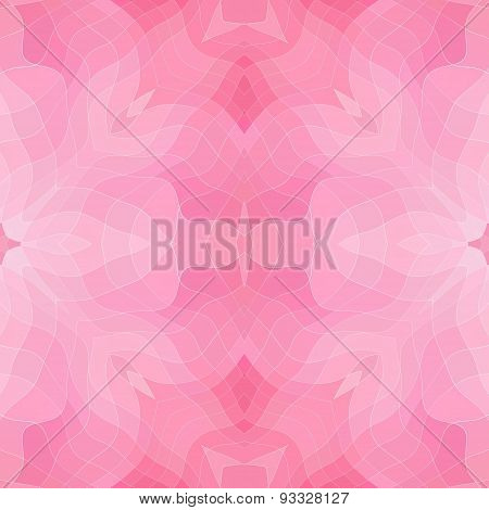 Seamless Mosaic Pattern Or Texture In Pink