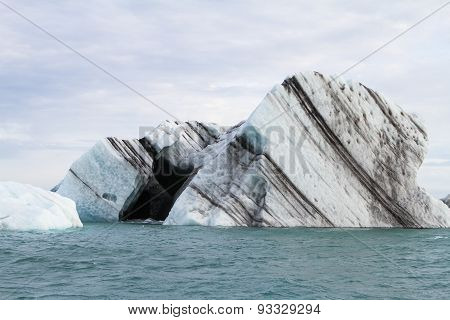 The black heart in the iceberg