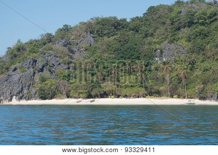 Isolated Beach Paradise In Caramoan, Philippines