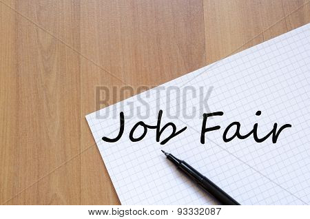 Job Fair Concept