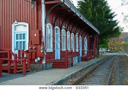 Old Steam Locomotive Station