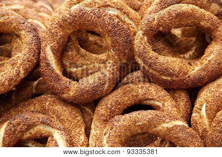Turkish Bagel - Simit