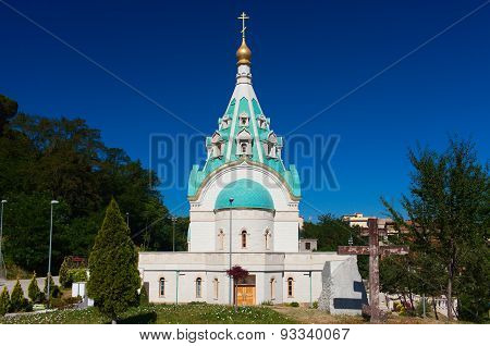 St. Catherine Russian Orthodox Church. Rome, Italy