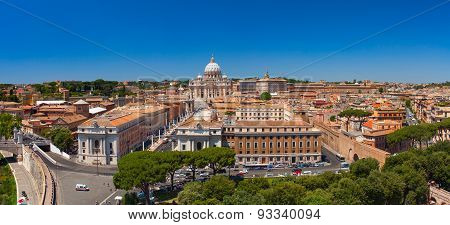 Saint Peter's Square. Vatican City