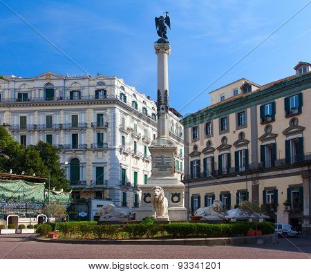 Piazza dei Martiri (Martyrs' Square). Naples
