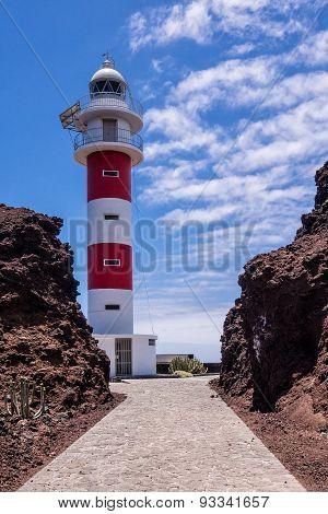 Lighthouse Faro De Punta De Teno