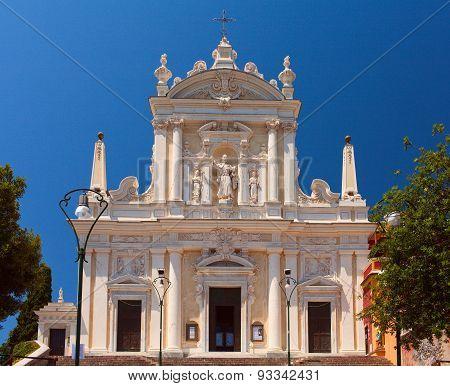 Church of Santuario di Nostra Signora della Lettera. Italy