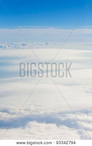 clouds from above Sky backgrounds and textures