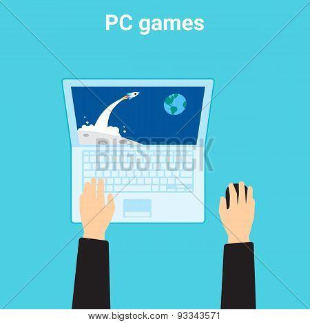 Computer videogame