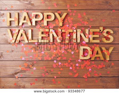 Happy Valentine's Day composition