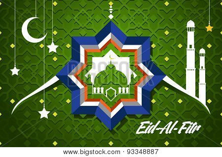 Eid-al-fitr Greeting Card