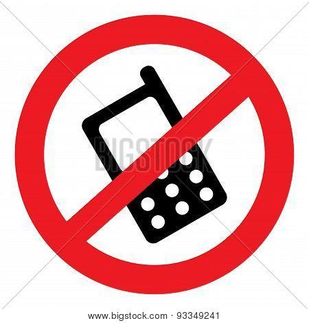 No Sound Icon Phone