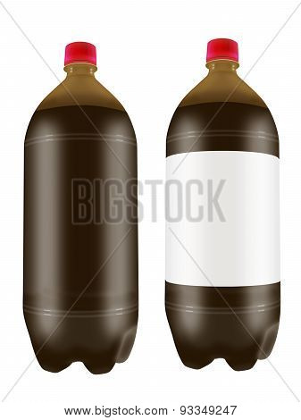 Beer In Two Liter Plastic Bottles.