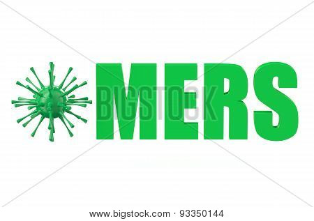 Mers Virus Concept