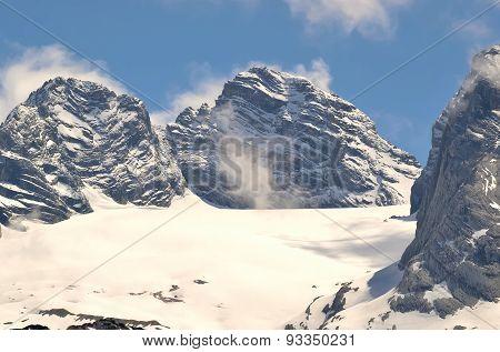 Mountain landscape in Austria.