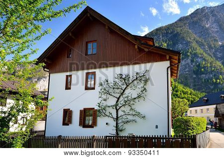 Extraordinary house in Hallstatt, Austria.