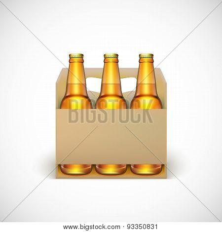 Packaging of beer