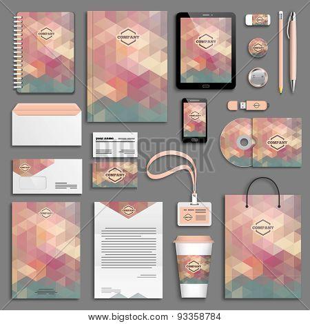 Corporate identity template set - neutral