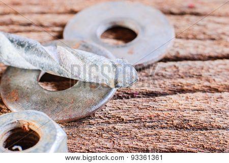 Old Rusty Drill Bit
