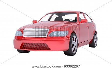 Image of red car