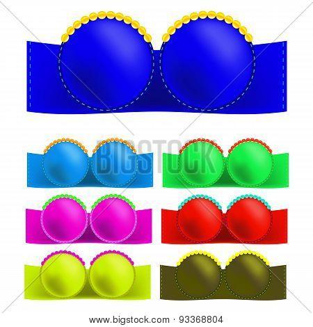 Colorful Bras