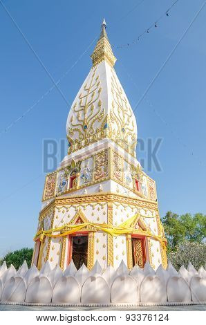 Stupa In Loei, Northeast Of Thailand