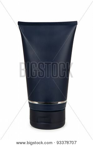 Plastic Blue Tube Of Gel For Shaving
