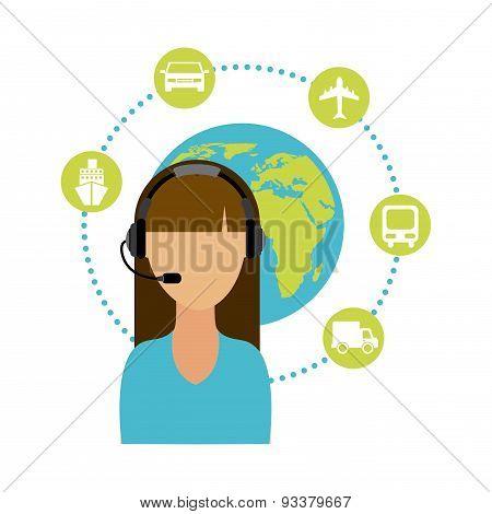 travel agent design