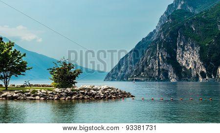 Bicycle At The Lake Of Garda, Italy
