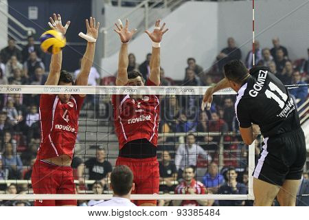 Paok Vs Olympiacos Greek Volleyleague Finals