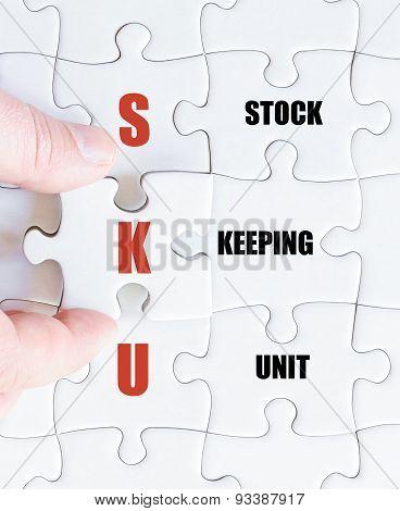 Last Puzzle Piece With Business Acronym Sku