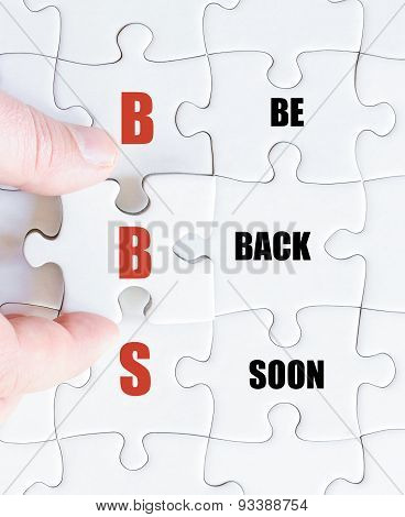Last Puzzle Piece With Business Acronym Bbs