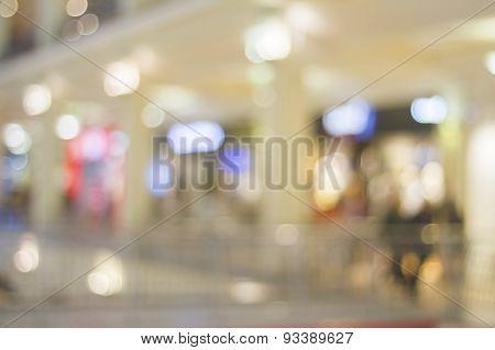 Shopping Mall In A Blur