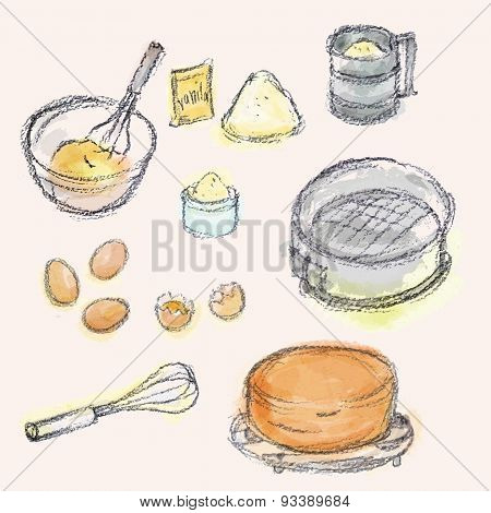 biscuit production set.