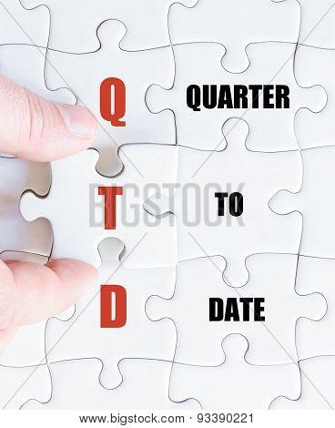Last Puzzle Piece With Business Acronym Qtd