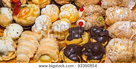 Pastries Wide