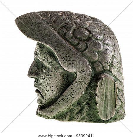 Eagle Warrior Head Profile